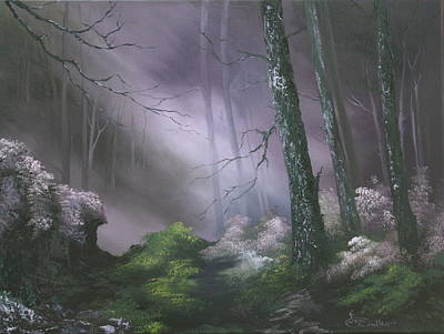 Forestry Painting - If You Go Down In The Woods Today ? by Jean Walker