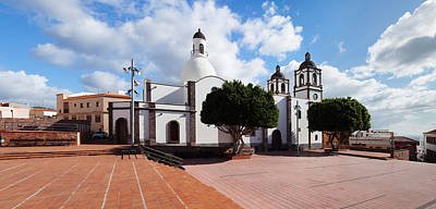 Iglesia Photograph - Iglesia De La Candelaria Church by Panoramic Images