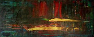 Winter Sports Painting - Ignite  by Tanya Lozano-tul