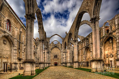 Corbal Photograph - Igreja Do Carmo Church by English Landscapes
