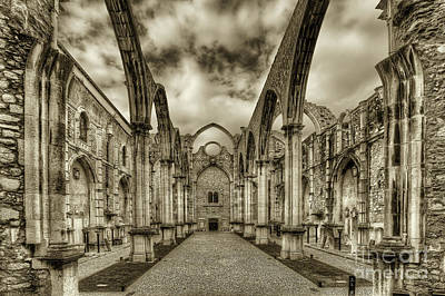 Corbal Photograph - Igreja Do Carmo by English Landscapes