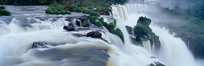 Turbulence Photograph - Iguazu Falls, Iguazu National Park by Panoramic Images