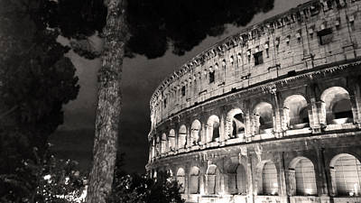 Il Colosseo Nocturne Original by William Fields