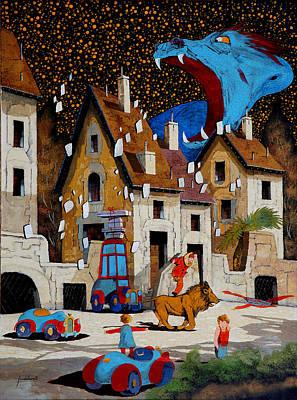 Il Drago Original by Guido Borelli