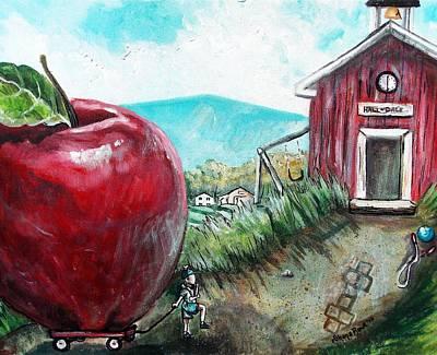 Ill Be The Teachers Pet For Sure Print by Shana Rowe Jackson
