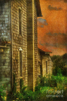 Dilapidated Digital Art - I'll Take Everything - Painterly Version by Lois Bryan