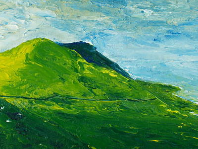 Ireland Painting - I'll Take The High Road by Conor Murphy