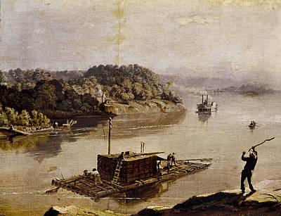 Illinois Keelboat Print by Granger