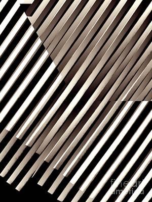 Illusion In Sepia Print by Sarah Loft
