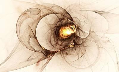 Abstract Forms Digital Art - Illusion Of Choice by Anastasiya Malakhova