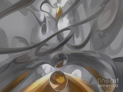 Sweet Digital Art - Illusions Pastel Abstract by Alexander Butler
