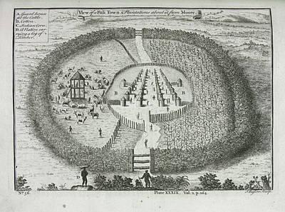 Slaves Photograph - Illustration Of Slave Plantation by British Library