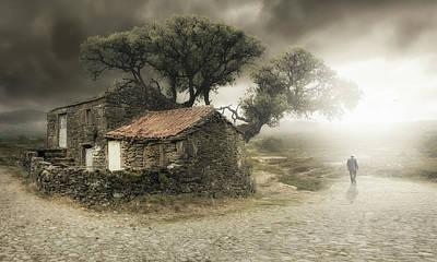 Old House Photograph - I'm Leaving by Nuno Araujo
