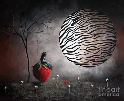 I'm Your Huckleberry By Shawna Erback Print by Shawna Erback