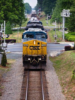 Miniature Effect Photograph - Image 50 Train by David Bachman
