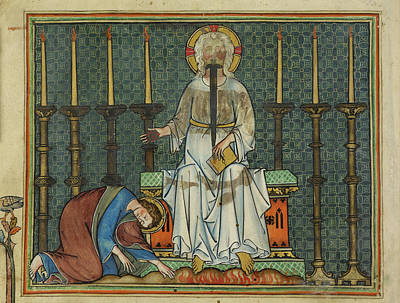 Image From St John's Apocalypse Print by British Library
