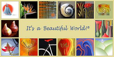 Ben Gertsberg Digital Art - Image Mosaic - Promotional Collage by Ben and Raisa Gertsberg
