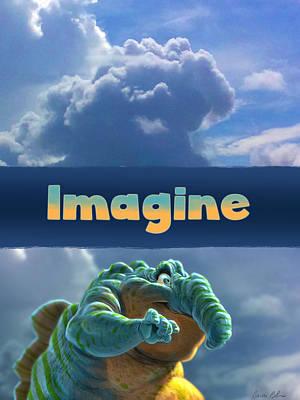 Imagine Print by Aaron Blaise