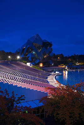 Imax Theater, Futuroscope Science Park Print by Panoramic Images