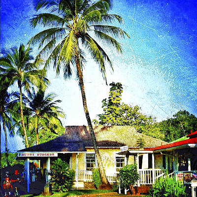Haleiwa Photograph - Bubba Burgers by Stacy Vosberg