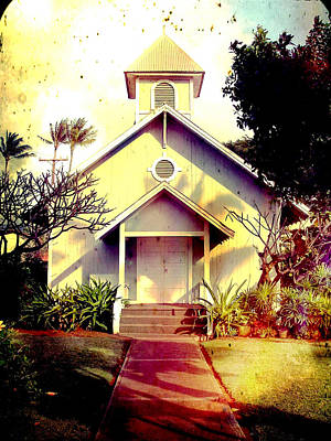 Haleiwa Photograph - Hawaiian Church by Stacy Vosberg