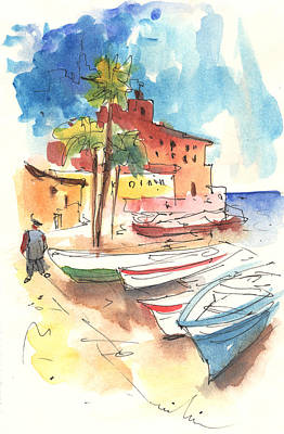 Imperia In Italy 01 Print by Miki De Goodaboom