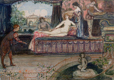 Imperia La Belle Print by Charles Edward Conder
