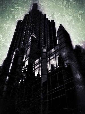 Gotham City Digital Art - Imposing Corporate Structures by Gary Cain