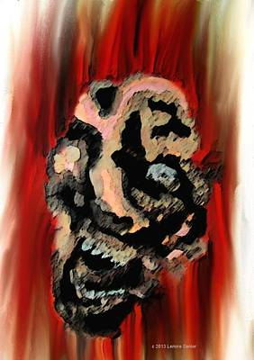Raging Mixed Media - Impotent Rage by Lenore Senior