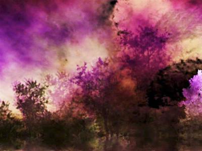 Impressionism Style Landscape Print by Maggie Vlazny