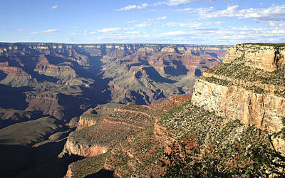 Landscapes Painting - Impressionistic Poster Print Of The Grand Canyon by Kevin  McCain