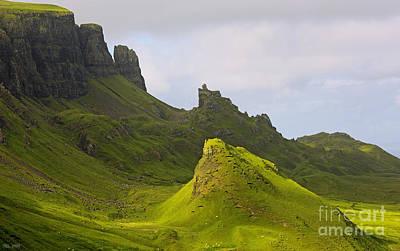 impressions of scotland - quiraing II Print by Meleah Fotografie