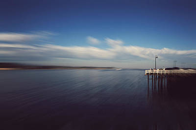 Santa Cruz Pier Photograph - In An Instant by Laurie Search