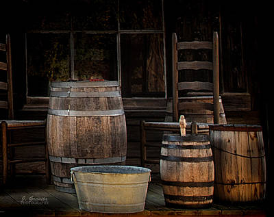 Washtub Photograph - In Days Gone By by Joe Granita
