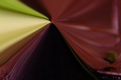 Abstract Digital Art Photograph - In Fast Flight From A Bugs Eye  by Jeff Swan