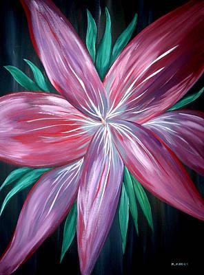 Mark Moore Painting - In Her Eyes  by Mark Moore
