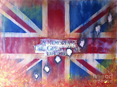 In Memoriam W W 1 Original by Michelle Deyna-Hayward