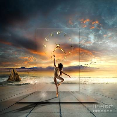 Ballet Dancers Digital Art - In My Dreams ... by Franziskus Pfleghart