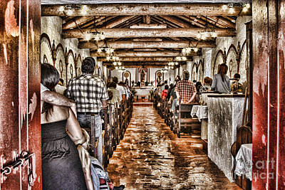 In Service Mission San Antonio De Pala By Diana Sainz Print by Diana Sainz
