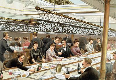 In The Bay, Dinner Time - A Western Print by W. Lloyd