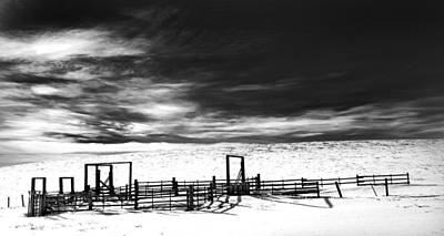 Winter Storm Photograph - In The Bleak Midwinter by Theresa Tahara