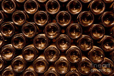 Winery Photograph - In The Cellar by Jon Neidert