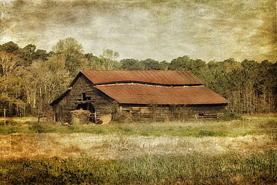 Granary Photograph - In The Country by Kim Hojnacki