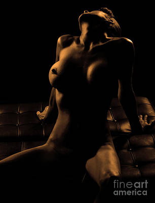 Sexy Naked Girls Photograph - In The Dark by Exposed Arts
