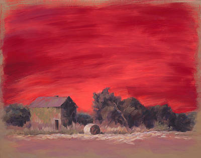 Bales Painting - In The End by Ann Litrel