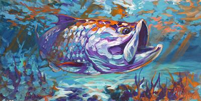 Savlen Painting - In The Flats by Savlen Art