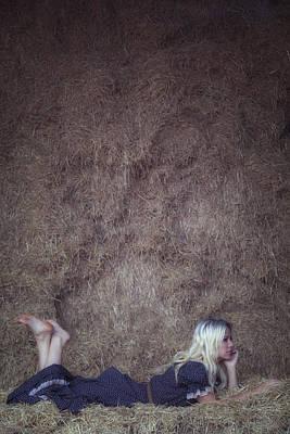 In The Hay Print by Joana Kruse