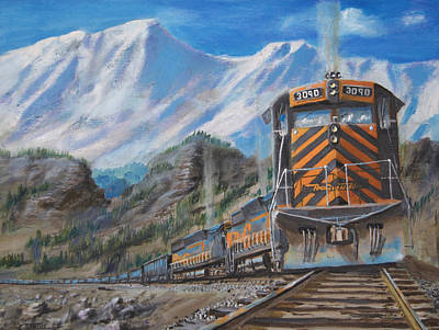In The High Country With The Rio Grande Original by Christopher Jenkins