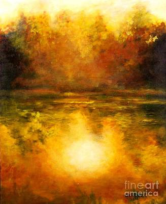 In The Light Of Day Print by Alison Caltrider
