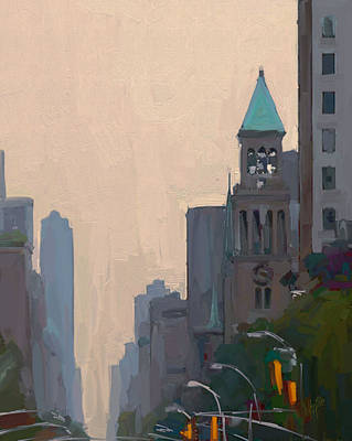 In The New York City Mountains Print by Nop Briex